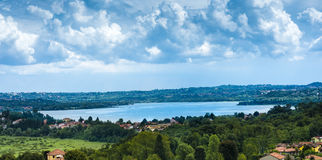 Lac Varese_Italy_Europe Photo stock