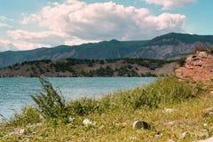 Lac venteux Photographie stock libre de droits