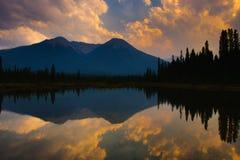 Lac vermeil Photo stock