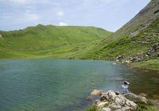 Lac Vert, Вале, Швейцария Стоковые Изображения