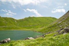 Lac Vert, Вале, Швейцария Стоковые Изображения RF
