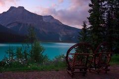 Lac vert photographie stock