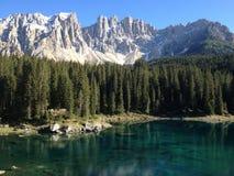Lac vert photographie stock libre de droits