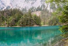 Lac vert au coeur de l'Autriche Photos libres de droits