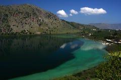 Lac vert Kuna Photographie stock libre de droits
