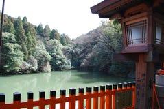 Lac vert mountain Photos libres de droits