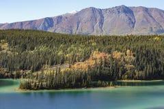 Lac vert près de Cracross image stock