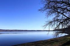 Lac Vico Images libres de droits