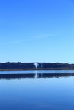 Lac Vico Photos libres de droits