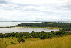 Lac Victoria africa Image libre de droits