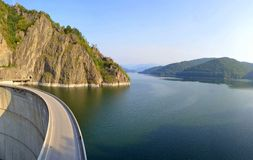 Lac Vidraru Photo libre de droits