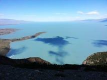 Lac Viedma photos libres de droits