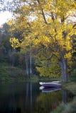 Lac Vlasina Serbie Photos libres de droits