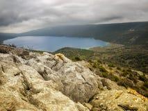 Lac Vrana photos libres de droits