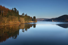 Lac Vyrnwy Image stock