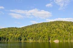 Lac w Mont-Tremblant Zdjęcia Stock