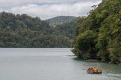Lac Waikareiti Te Urewera National Park images libres de droits
