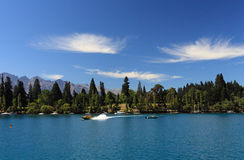 Lac Wakatipu photos stock