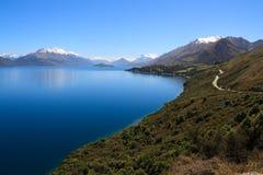 Lac Wakatipu Photo libre de droits
