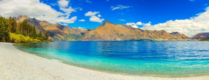 Lac Wakatipu Photo stock