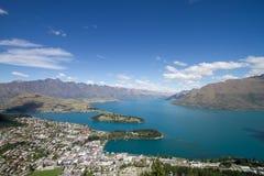 Lac Wakatipu Images libres de droits