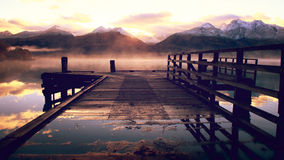 Lac Wakatipu Images stock