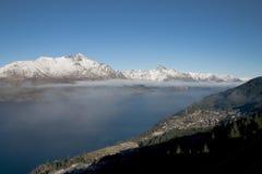 Lac Wakatipu Image stock