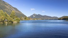Lac Walchensee en Allemagne du sud Photos libres de droits