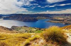 Lac Wanaka, Nouvelle Zélande Images stock