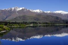 Lac Wanaka - réflexion Images libres de droits
