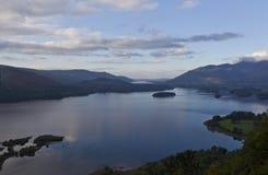 Lac water de Derwent Photo libre de droits