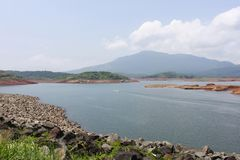Lac Wayanad, Kerala Pookode Photographie stock libre de droits