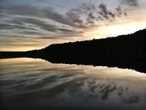 Lac Wayne Wallace dans l'Oklahoma photos libres de droits