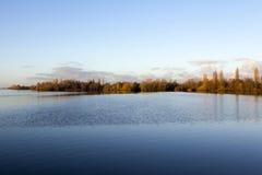Lac Westeinder Plassen Aalsmeer - en Hollande - le néerlandais (l'Europe) Photos stock