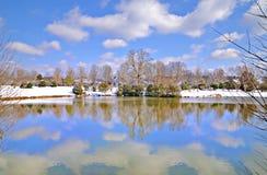 Lac winter Image stock