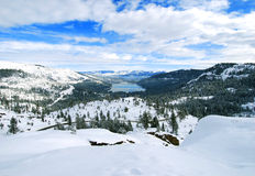 Lac winter Photo stock