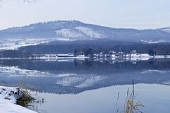 Lac winter Photo libre de droits