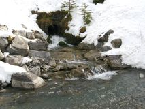 Lac winter Images stock