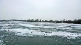 Lac winter Images libres de droits