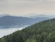 Lac Woerthersee - est images stock