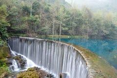 Lac Wolong Photographie stock libre de droits