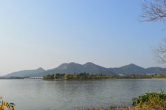 Lac XiangHu photographie stock