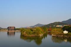 Lac XiangHu images libres de droits