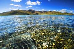 Lac Yangzhuoyongcuo Image libre de droits