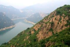 Lac Yansaj Photos libres de droits