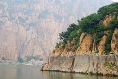 Lac Yansaj Photo libre de droits