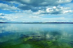 Lac Yellowstone Photographie stock libre de droits