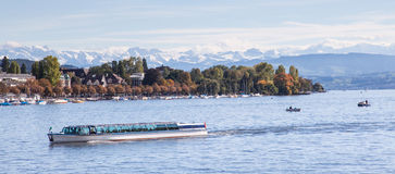 Lac Zurich Photographie stock