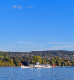 Lac Zurich Photos stock