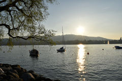 Lac zurich Photos stock
